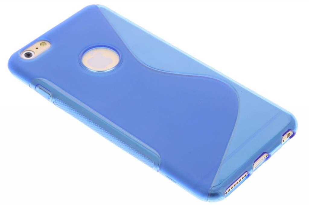S-line Backcover voor iPhone 6(s) Plus - Blauw