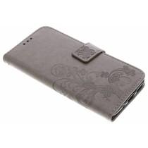 Klavertje Bloemen Booktype Motorola Moto G5S Plus