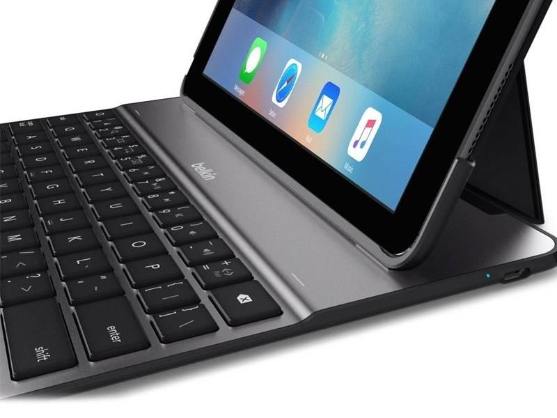 Belkin Qode Ultimate Lite Keyboard Case Voor De Ipad 2018 2017 Ipad Air