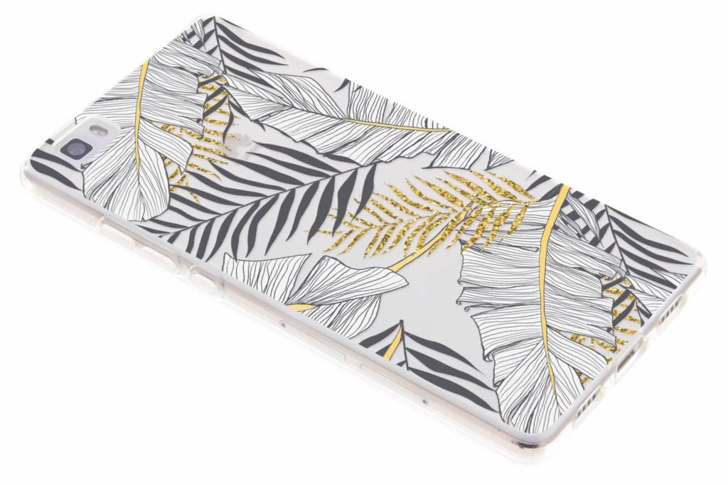 Design Backcover voor Huawei P8 Lite (2017) - Glamour Botanic