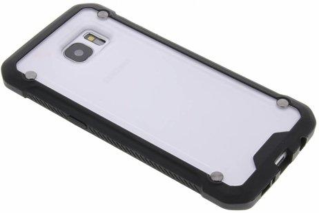 Samsung Galaxy S7 Edge hoesje - Transparante defender hardcase voor