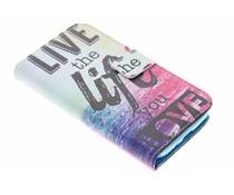Design Softcase Booktype Samsung Galaxy S4