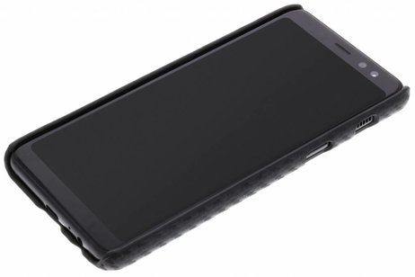 Samsung Galaxy A8 (2018) hoesje - Carbon Hardcase Backcover voor