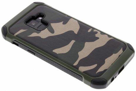 Samsung Galaxy A8 (2018) hoesje - Army Defender Backcover voor
