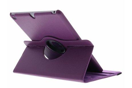 360° Draaibare Bookcase voor iPad (2017) / (2018) - Paars