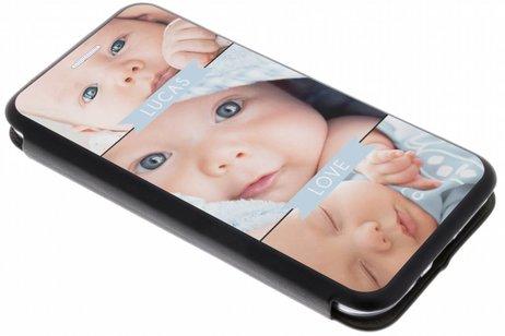 Samsung Galaxy J3 / J3 (2016) gel booktype hoes ontwerpen (eenzijdig)