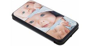 Samsung Galaxy J3 (2017) gel booktype ontwerpen (eenzijdig)