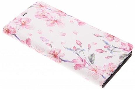 Design Hardcase Booktype voor Samsung Galaxy Note 8 - Bloesem Watercolor