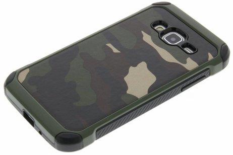 Army Defender Backcover voor Samsung Galaxy J3 / J3 (2016) - Groen