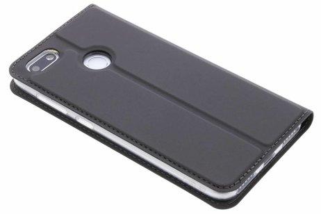 Dux Ducis Slim Softcase Booktype voor Huawei Y6 Pro (2017) / P9 Lite Mini - Grijs