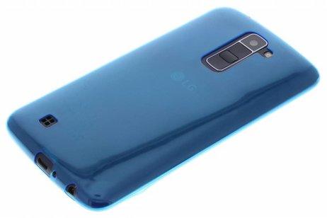 LG K10 hoesje - Ultra Thin Transparant Backcover