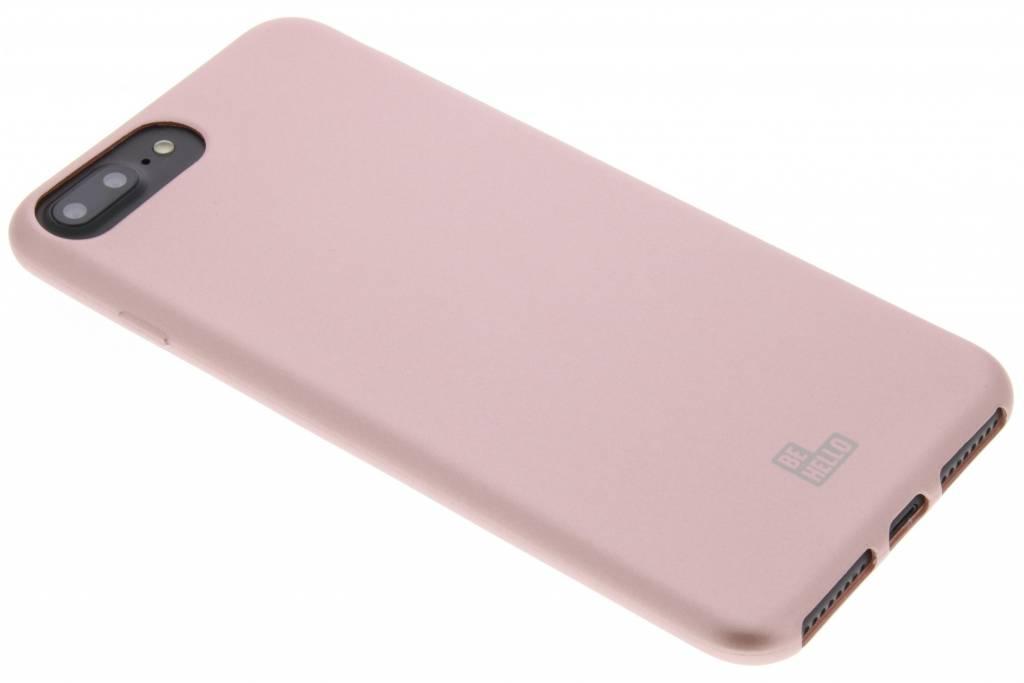Be Hello Rosé Gouden Soft Touch Gel Case voor de iPhone 8 Plus / 7 Plus / 6(s) Plus