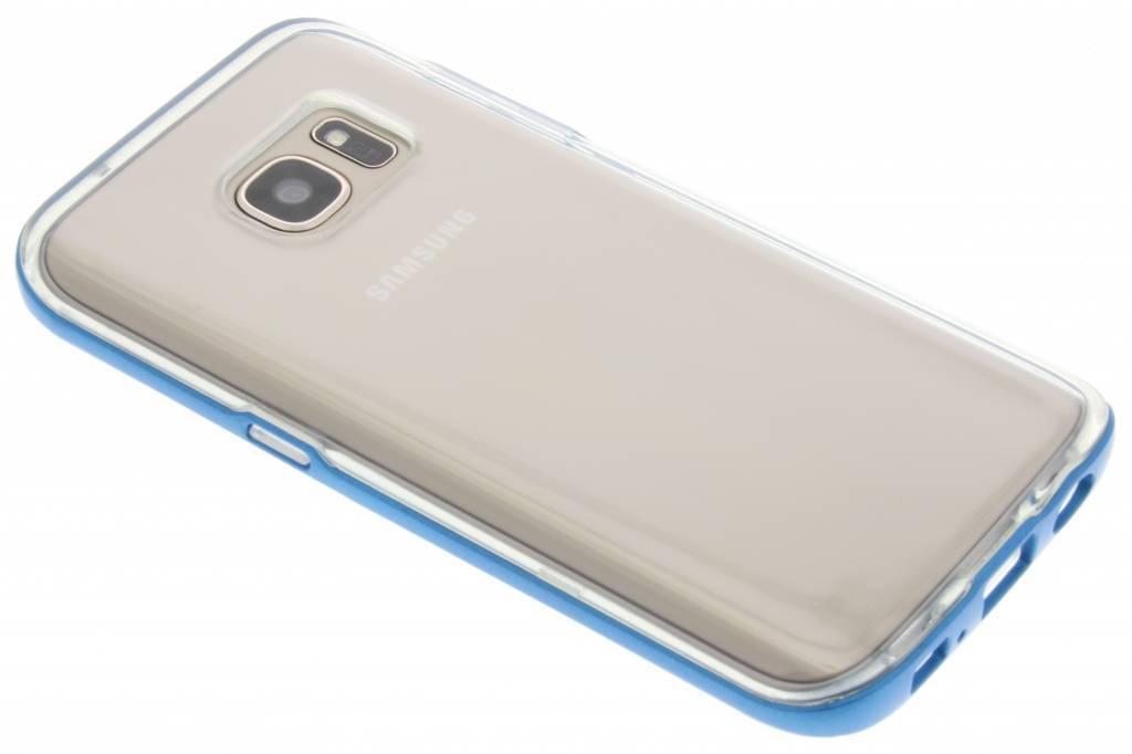 Bumper Backcover voor Samsung Galaxy S7 - Blauw