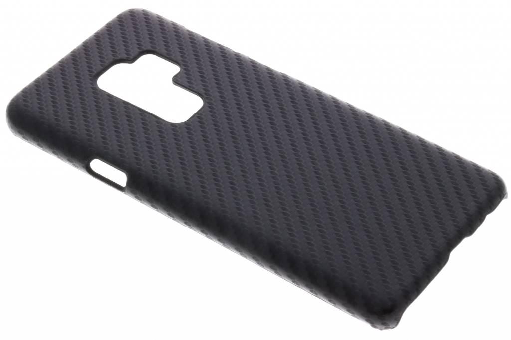 Carbon Hardcase Backcover voor Samsung Galaxy S9 Plus - Zwart