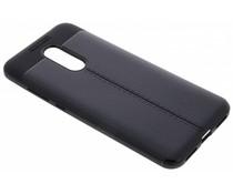 Lederen Backcover met stiksel Xiaomi Redmi 5 Plus