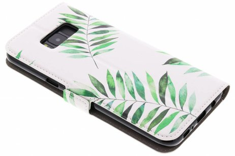 Samsung Galaxy S8 Plus hoesje - Design Softcase Booktype voor