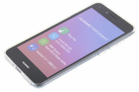 Softcase Backcover voor Huawei Y5 2 / Y6 2 Compact - Transparant