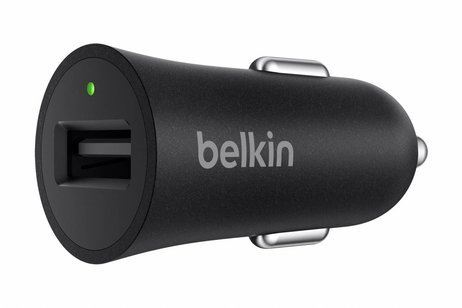 Belkin Zwarte Boost↑Up™ Quick Charge™ Car Charger + USB-C kabel