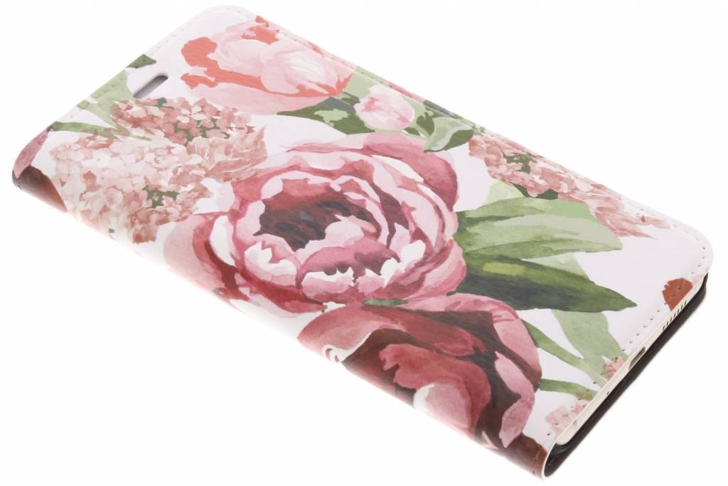Design Hardcase Booktype voor Huawei P10 Lite - Romantic Bloemen