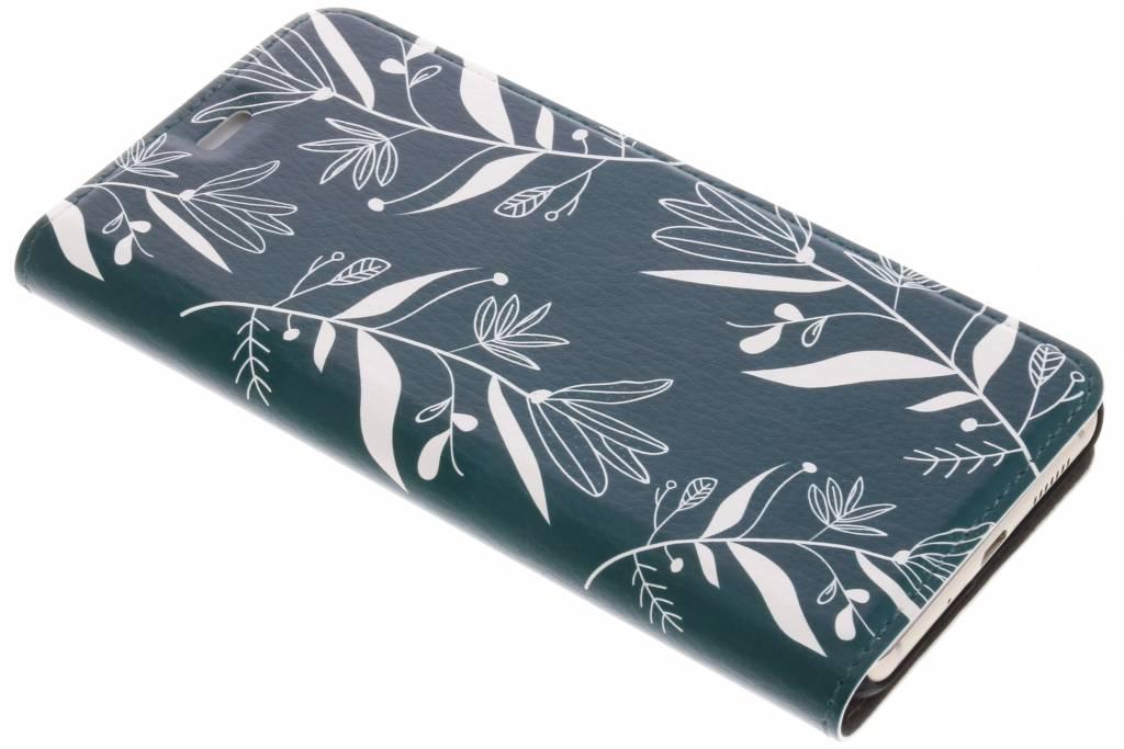 Design Hardcase Booktype voor Huawei P10 Lite - Botanic Bloem