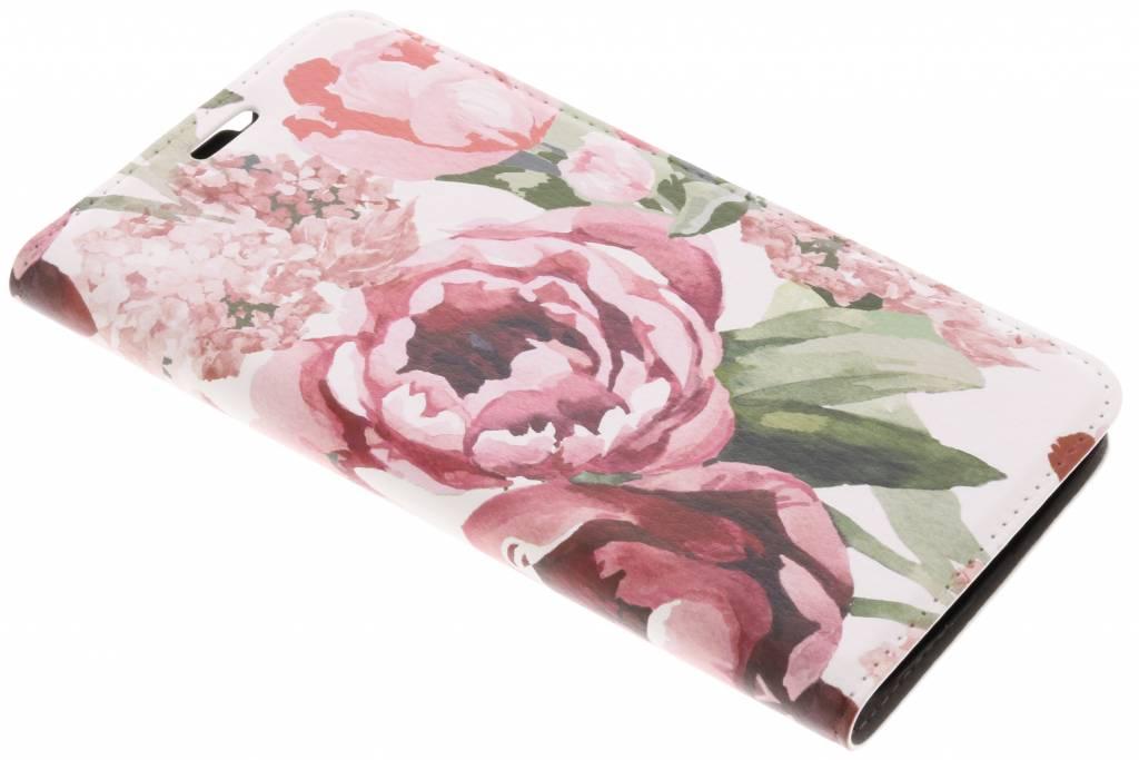 Design Hardcase Booktype voor Motorola Moto G5S - Romantic Bloemen