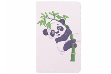 Design Softcase Bookcase voor Samsung Galaxy Tab A 10.1 (2016) - Panda