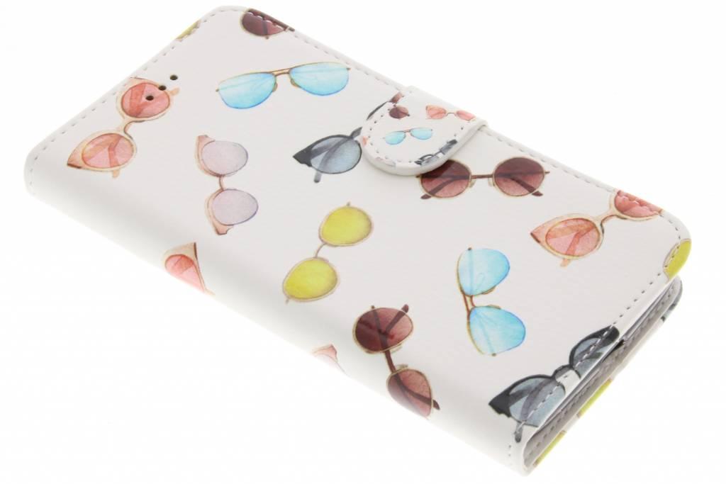 Design Softcase Booktype voor Motorola Moto G5 - Zonnebrillen
