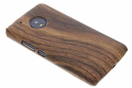 Motorola Moto G5 hoesje - Hout Design Backcover voor