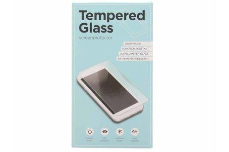Gehard Glas Achterkant Protector voor iPhone Xs / X - Zwart