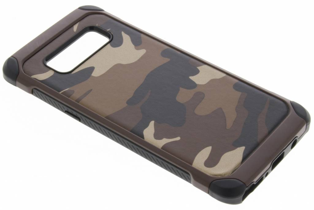Army Defender Backcover voor Samsung Galaxy Note 8 - Bruin