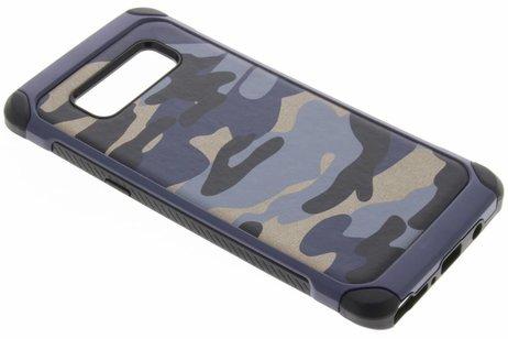 Army Defender Backcover voor Samsung Galaxy Note 8 - Blauw