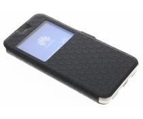 Zwart Rhombus hoesje Huawei Y6