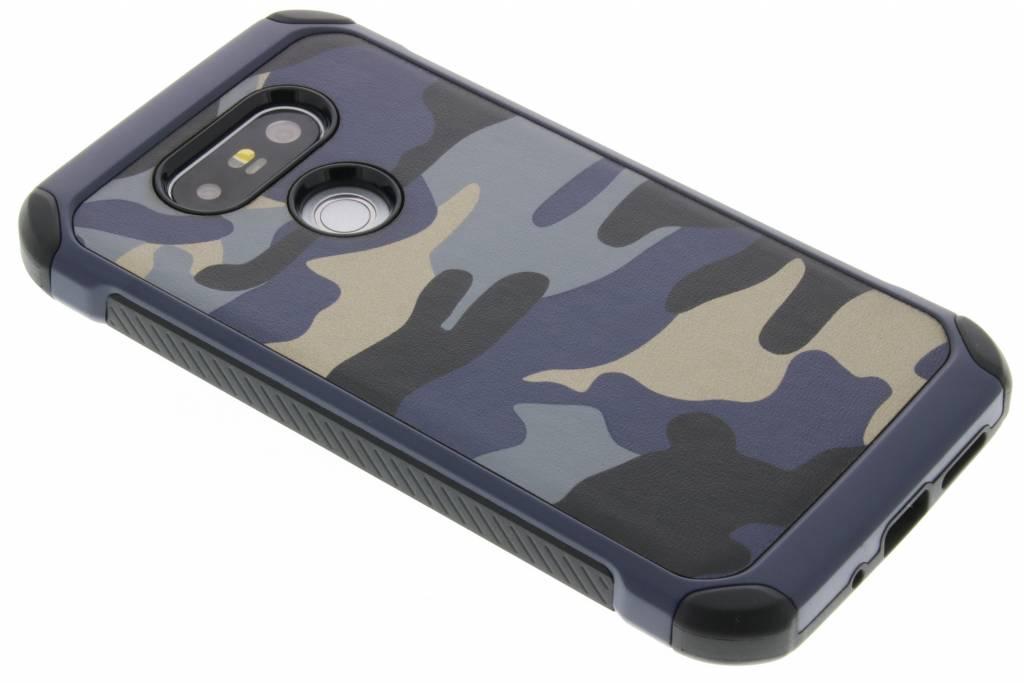 Blauw army defender hardcase hoesje voor de LG G5 (SE)