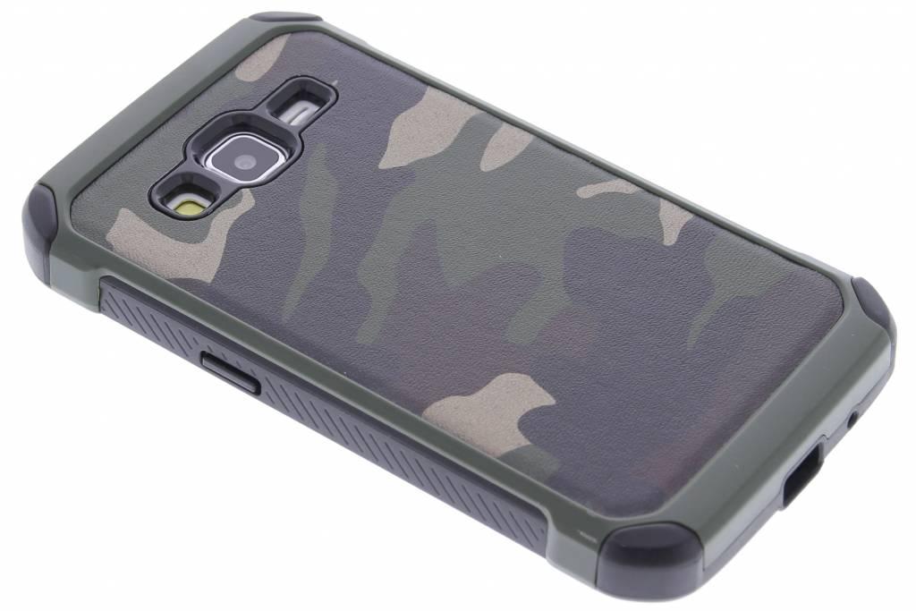 Army Defender Backcover voor Samsung Galaxy Core Prime - Groen