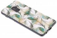 Design Backcover voor Samsung Galaxy A8 (2018) - Pauw Goud