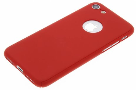 360° Effen Protect Backcover voor iPhone 8 / 7 - Rood