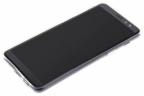 Design Backcover voor Samsung Galaxy A8 (2018) - Bloesem Watercolor