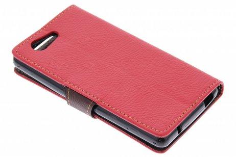 Sony Xperia Z3 Compact hoesje - Blad Design Booktype voor