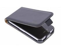 Selencia Zwart Luxe Flipcase iPhone 4 / 4s