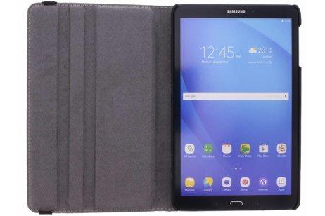 360° Draaibare Design Bookcase voor Samsung Galaxy Tab A 10.1 (2016) - Bloem