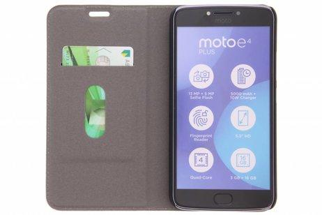 Motorola Moto E4 Plus hoesje - Design Hardcase Booktype voor
