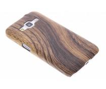 Hout design hardcase hoesje Samsung Galaxy Core Prime
