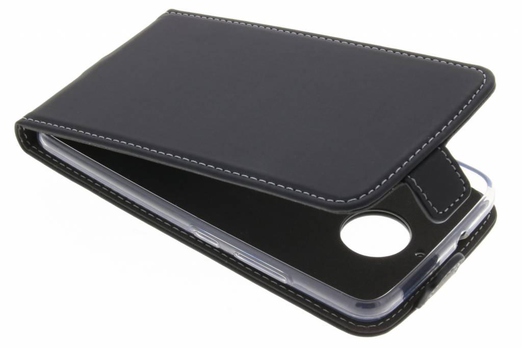 Accezz Flipcase voor Motorola Moto E4 - Zwart