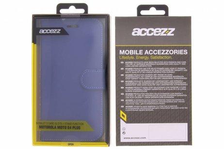 Motorola Moto E4 Plus hoesje - Accezz Wallet Softcase Booktype