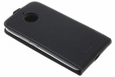 Accezz Flipcase voor Motorola Moto E4 Plus - Zwart