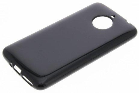 Softcase Backcover voor Motorola Moto E4 Plus - Zwart
