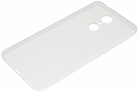 Xiaomi Redmi 5 hoesje - Ultra Thin Transparant Backcover