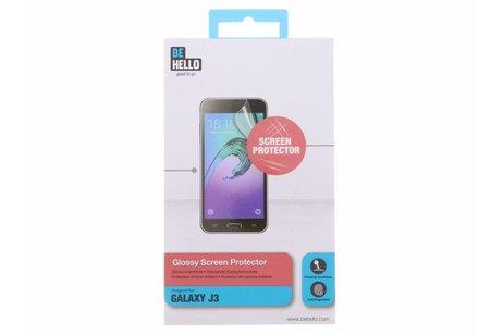 Be Hello Glossy Screenprotector voor Samsung Galaxy J3 / J3 2016 - Transparant