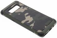 Army Defender Backcover voor Samsung Galaxy Note 8 - Groen