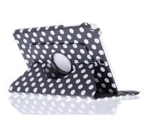 360º draaibare polka dot tablethoes Galaxy Tab A 7.0 (2016)